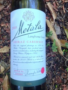 2010 Metala Shiraz Cabernet