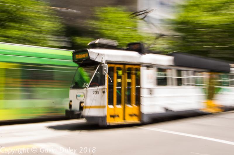 Tram, Melbourne, 23rd February 2018 13:03